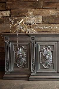 Metallic Painted Furniture Ideas