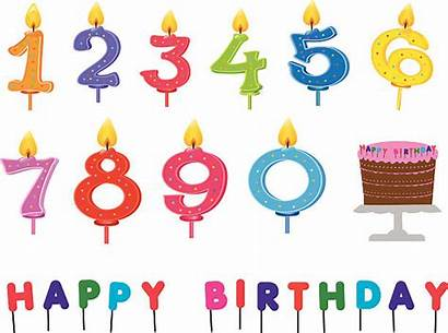 Candle Vector Clip Candles Birthday Illustrations Cake