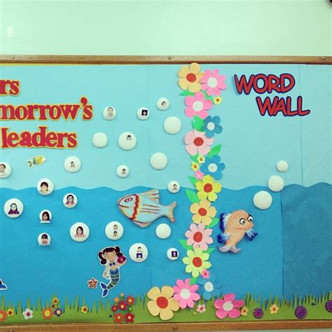 fish bulletin boards and classroom ideas