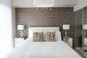 20 ways bedroom wallpaper can transform the space With wall paper designs for bedrooms