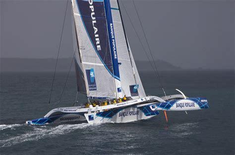banque populaire v il più grande trimarano al mondo yacht e vela