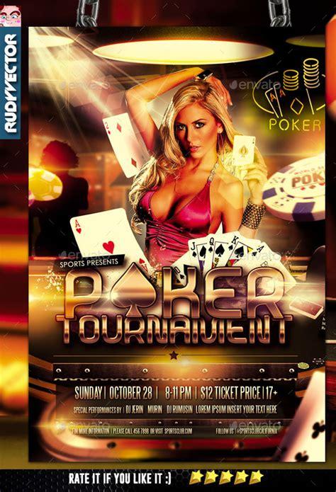 poker tournament flyer design casinoflyers
