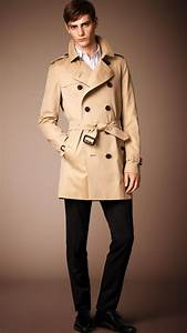 Trench Coat Homme Long : the kensington trench coat mi long heritage burberry ~ Nature-et-papiers.com Idées de Décoration