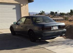 Honda Accord Coupe 1992 Blue
