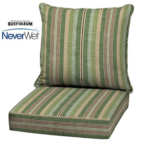 allen and roth patio cushions shop allen roth multi eucalyptus glenlee stripe