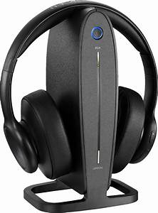 Insignia- Rf Wireless Over-the-ear Headphones