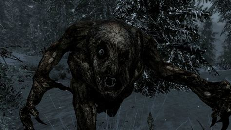 skyrim monster mod  added  creature called