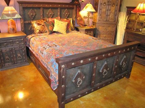 jerusalem bed   rustic gallery  san antonio texas