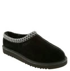 ugg tasman slippers sale ugg 39 tasman 39 slipper in black for lyst