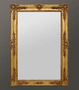 Grand Miroir Vintage : grand miroir chemin e ancien poque restauration home pinterest ~ Teatrodelosmanantiales.com Idées de Décoration