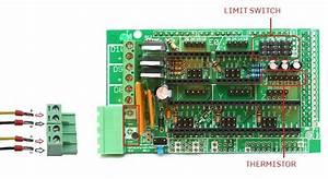Wiring Ramps Electronics For Reprap Prusa I3 3d Printer  U2013 Asensar