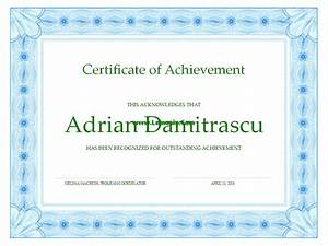 achievement related office templates for ms office software With ms publisher certificate templates