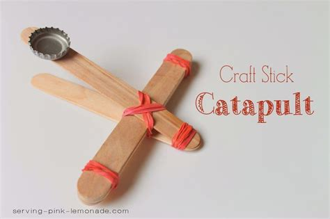 Craft Stick Catapult These Craft Stick Catapults Are Fun