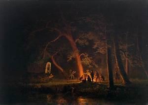File:Campfire (Albert Bierstadt), 1863.jpg - Wikimedia Commons