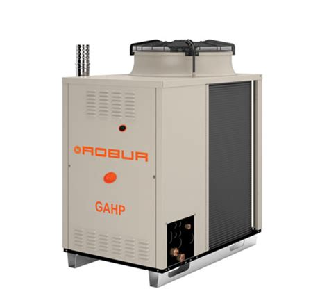 Reversible Absorption Heat Pump Powered By Natural Gas And