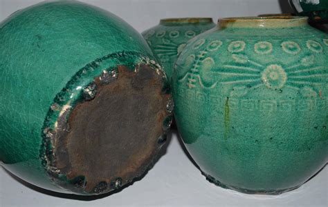antique green glazed chinese ginger jar  sale  stdibs