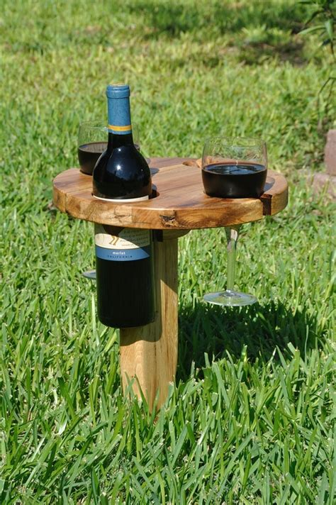 portable picnic wine table home design garden architecture blog magazine