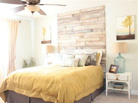 chambre palette bois des palettes dans la chambre cocon de décoration le