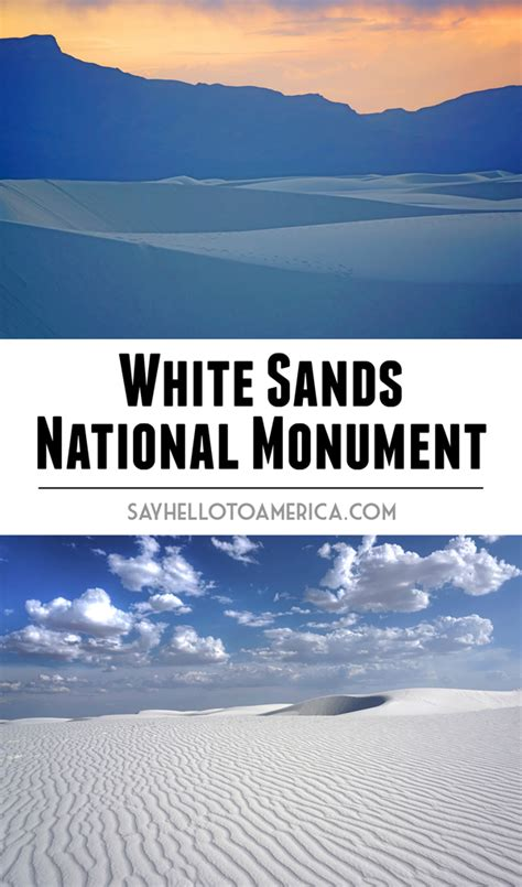 Staircase National Park by Photo Essay White Sands National Monument