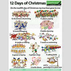 The Twelve Days Of Christmas  A Christmas Carol  Woodward English