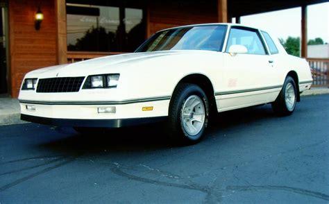 1987 chevrolet monte carlo ss aero coupe