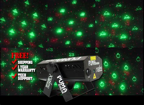 X-static Puma Dual Color Animation Laser Effect Light