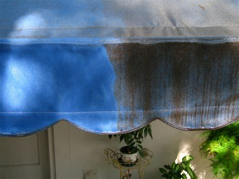 After A Long Storage Period, Your Awning Fabric May Have
