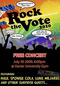 Rock the Vote 2009 Cagayan de Oro City leg on July 30 ...