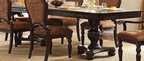 Russian Hill Upholstery by Russian Hill Warm Cherry Extendable Dining Table From