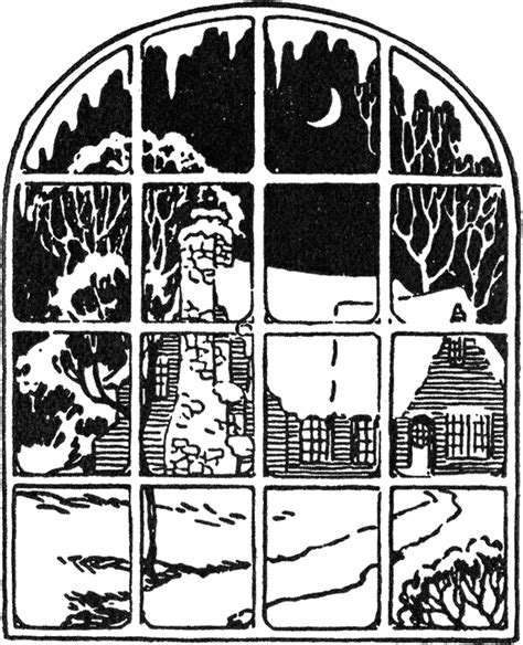 lovely vintage snowy window image  graphics fairy