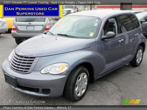 2007 Chrysler Pt Cruiser Touring by Opal Gray Metallic 2007 Chrysler Pt Cruiser Touring