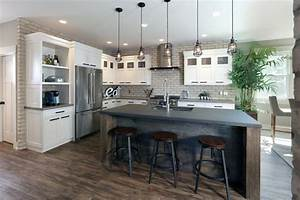 Modern Industrial Residence - Industrial - Kitchen - Grand