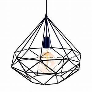 Suspension Industrielle Ikea : suspension azal e m tal noir lignes droites ampoule filament scandinave moderniste ~ Teatrodelosmanantiales.com Idées de Décoration