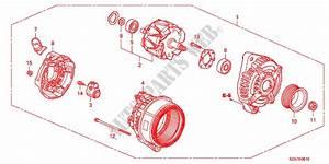 Alternator Denso  For Honda Cars Pilot Ex