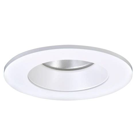 home depot recessed lighting trim halo 9 1 2 in white recessed lighting square trim with