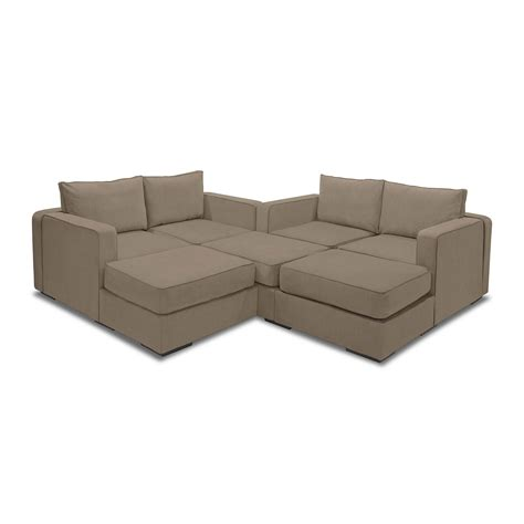 lovesac price 5 series sactionals m lounger taupe lovesac touch