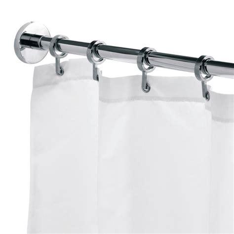 Croydex Round 984 In L Luxury Shower Curtain Rod With
