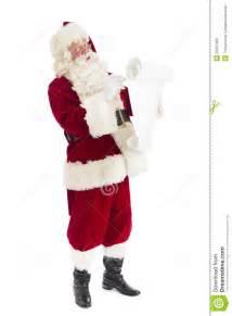 Santa Claus Writing List