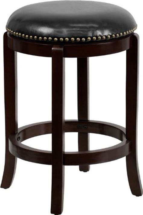 black wooden counter stools 24 quot backless cappuccino wood counter height stool with 4772