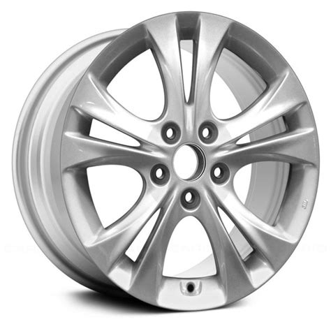 A 14 steel wheel with 10 spokes, a 15. Aluminum Wheel Rim 17 inch for Hyundai Sonata 2011-2013 5 ...