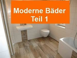 Moderne Bder Teil1 Feinsteinzeug Holzoptik Im Bad YouTube