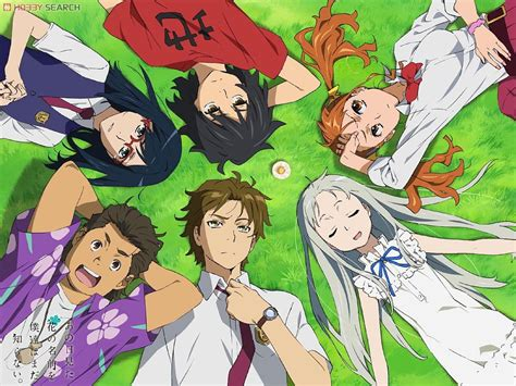 nama anime anohana we still don t the name of the flower we saw that day