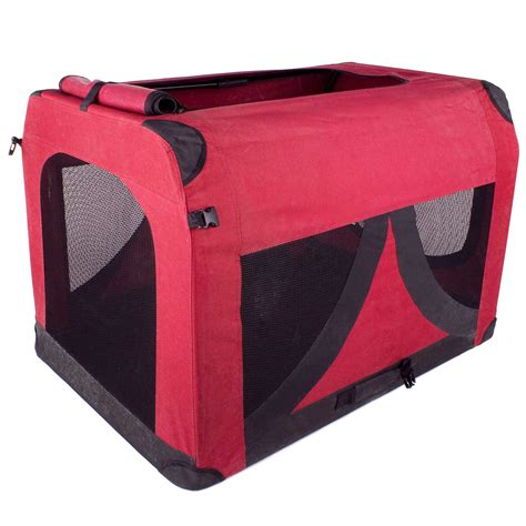 faltbare hundebox hunde transport box transportbox fuer