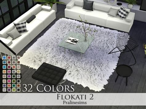 Sims 4 CC's - The Best: Rugs by Pralinesims