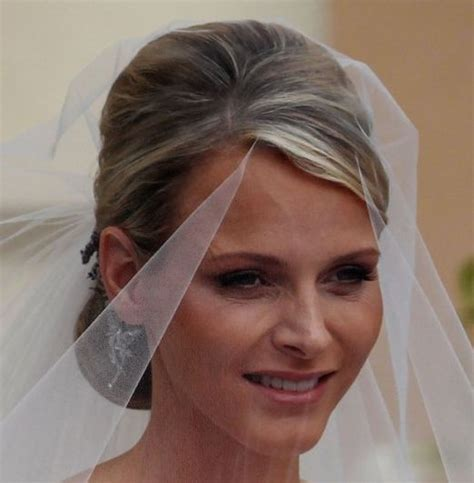 Charlene Wittstock Wedding Hairdo   Wedding   Careforhair