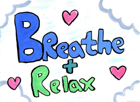 Breathe And Relax Clipart