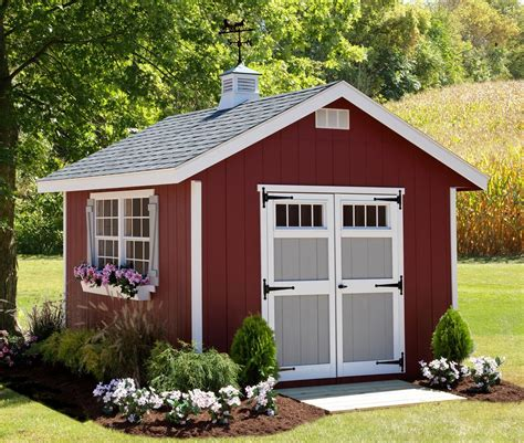 Garden Shed Kits - homestead storage shed kit by dutchcrafters amish furniture