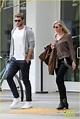Liam Hemsworth Treats His Mom Leonie To Lunch in Santa ...