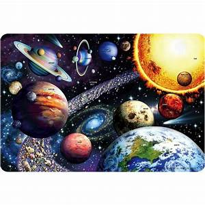 Solar System 24 pc Giant Floor Puzzle - Educational Toys ...