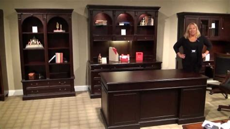 wellington executive home office desk set by wynwood
